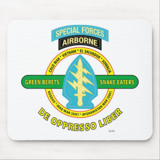 SPECIAL FORCES AIRBORNE PRODUCTS MOUSE PAD