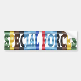 Special Forces, Armed Forces Exped. Medal Sticker Car Bumper Sticker