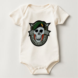 Special Forces BLACK OPS Military Patch Baby Bodysuit