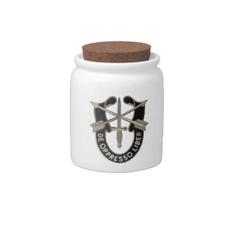 Special Forces Candy Dishes
