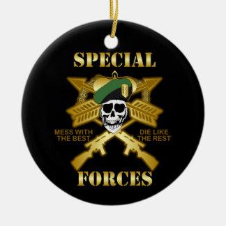 Special Forces Ceramic Ornament