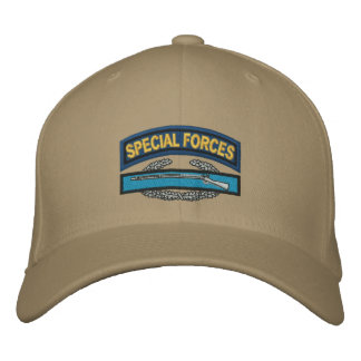 Special Forces CIB Embroidered Baseball Cap
