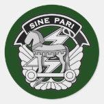 Special Forces Command DUI - Sine Pari Round Sticker