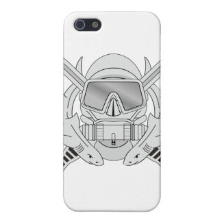 Special Forces Diver Emblem Cover For iPhone SE/5/5s