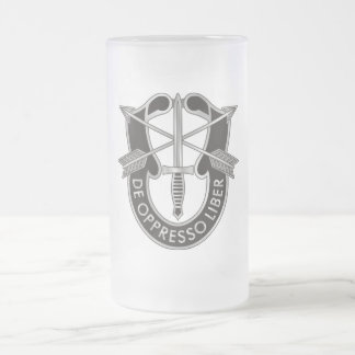 Special Forces Frosted Mug