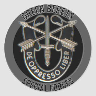 Special Forces GB Classic Round Sticker