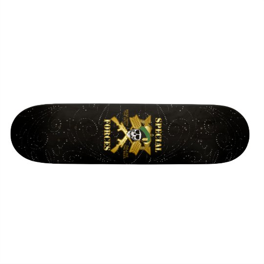 Special Forces Glitter Skateboard Deck