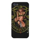 Special Forces Green Beret Pin Up Girl Case For iPhone 5
