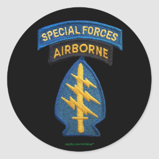 Special forces Green Berets group iraq Sticker