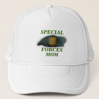 special forces green berets mom army son wife Hat