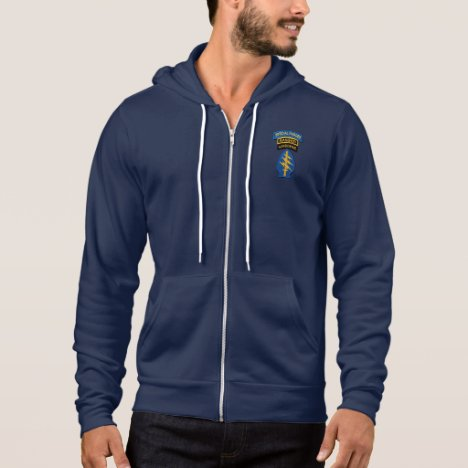 Special Forces Green Berets Rangers LRRPS Patch Hoodie