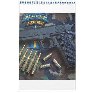 Special Forces Green Berets SF SFG LRRP LRRPS Vets Calendar