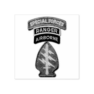 Special Forces Green Berets SF SFG SOF LRRPS Recon Rubber Stamp
