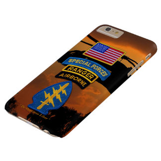 Special Forces Green Berets SF SFG SOF Vets Barely There iPhone 6 Plus Case