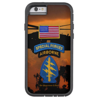 Special Forces Green Berets SF SFG SOF Vets Tough Xtreme iPhone 6 Case