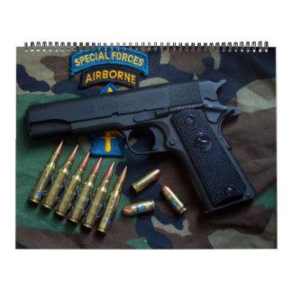Special Forces Green Berets SF SFG Veterans Calendar