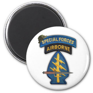 special forces green berets sf sof veterans vets magnet