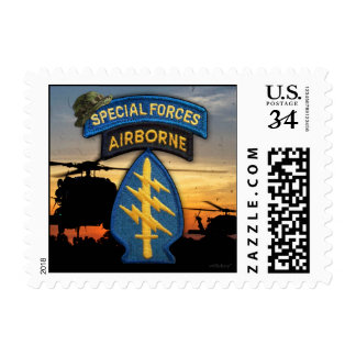 Special Forces Green Berets sf veterans vets Postage