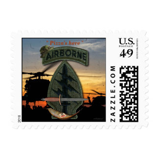 Special Forces Green Berets sf veterans vets Postage Stamps