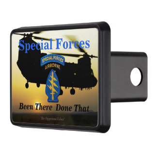 Special Forces Green Berets sfg sf veterans vets Hitch Cover