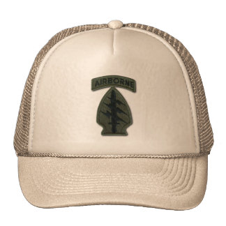 special forces green berets sof sf sfg veterans trucker hat