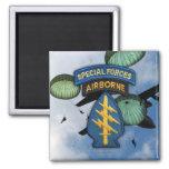 special forces  green berets veterans Magnet Refrigerator Magnet
