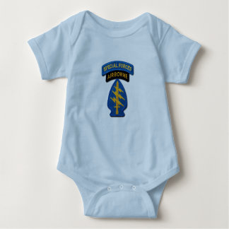 Special Forces Group Green Berets SFG SF LRRP Vets Baby Bodysuit