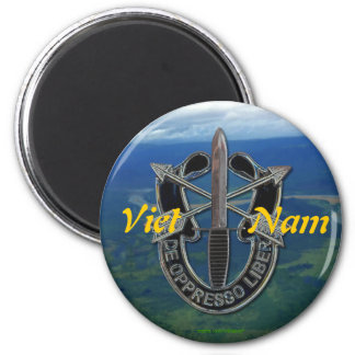 special forces group vets Magnet army son vietnam