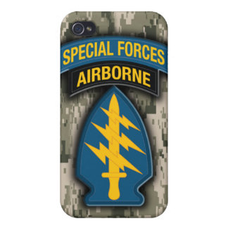 Special Forces iPhone 4 Case