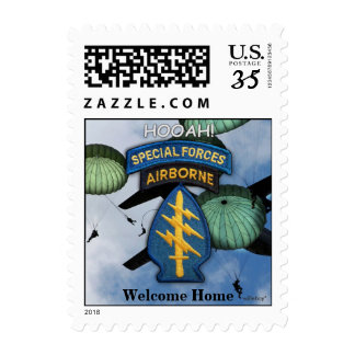 Special Forces iraq Green Berets Postage Stamps