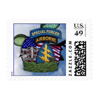 special forces iraq war veterans vets postage