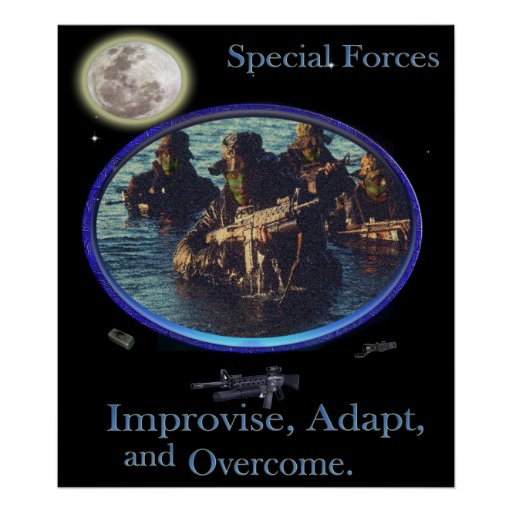 special forces military poster