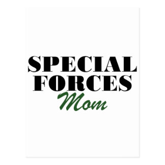 Special Forces Mom Postcard