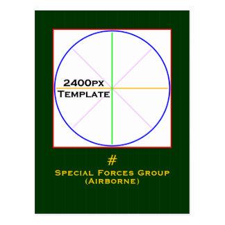 Special Forces PC3 Postcard