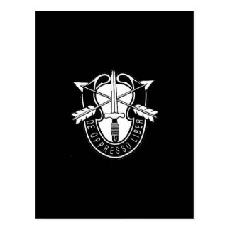 Special Forces Postcard