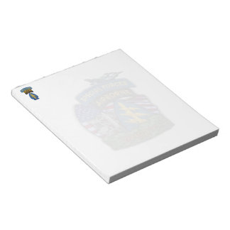 Special Forces Rangers green berets veterans Notepad