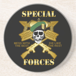 Special Forces Sandstone Coaster