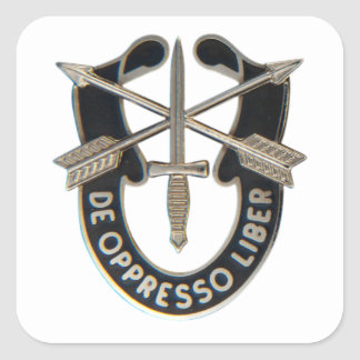 Special Forces Square Sticker