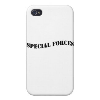 Special Forces stencil.jpg iPhone 4/4S Case