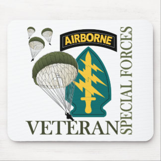 Special Forces Veteran - Airborne Mouse Pad