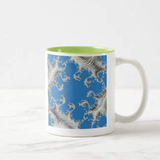 special fractal 15 Two-Tone coffee mug