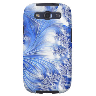 Special Fractal 17,blue Galaxy SIII Cover