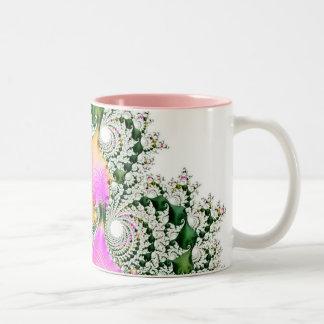 special fractal 21 Two-Tone coffee mug