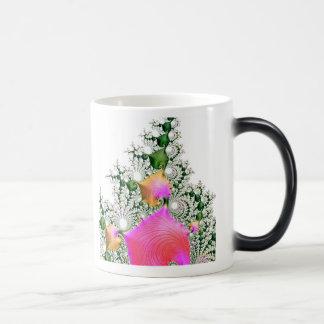 special fractal 21 11 oz magic heat Color-Changing coffee mug