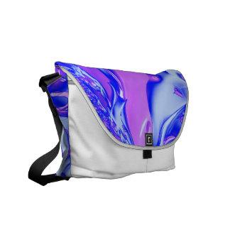 special fractal 24 pink courier bag