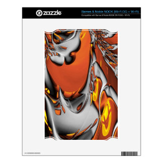 Special Fractal 24,terra Decal For NOOK