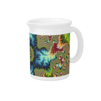 Special - Fractal Art Beverage Pitcher