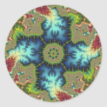 Special - Fractal Art Classic Round Sticker