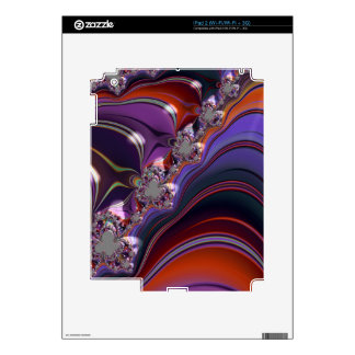 Special Fractal colorful Revolution Skin For The iPad 2