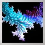 special fractal coral, soft poster